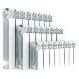 Радиатор алюминиевый R 500/96, 6 секций