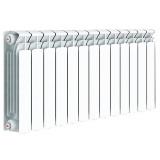 Радиатор биметаллический Rifar Base ventil 500 правая 4 секции