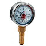 Термоманометр F+R828,80мм,0-4 бар,темп 0-120 С WATTS