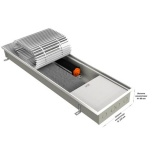 Конвектор EVA КВ80-1500 с вентилятором