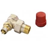 Вентиль термостатический угловой RTD-N 1/2
