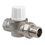 Вентиль термостатический повышенной пропускной способности прямой 1/2