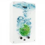 Колонка газовая GWH 10 Fonte Glass Lime