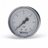 Манометр Watts 10 Bar (80 mm) заднее подключение метал 1/4
